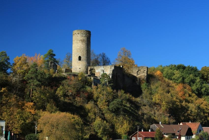 Zřícenina hradu Dobronice